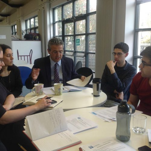 UJIA Youth Group Meet up with Laura Weller, BFM committee member 2014