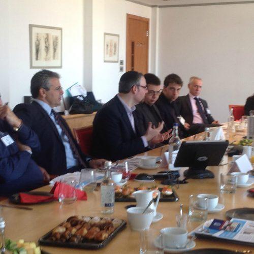 Business briefing at Coller Capital Rabbi Naftali Brawer, Spiritual Capital Foundation 2014
